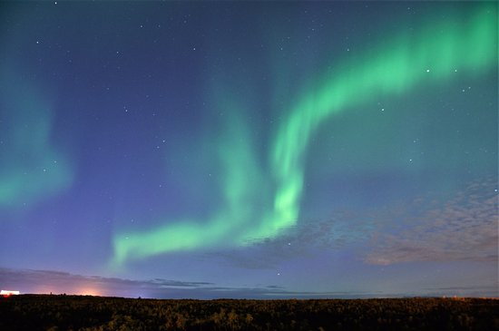 Keflavik, Islandia: Hotel is far enough away from Reykjavik to be able to see the Northern Lights!