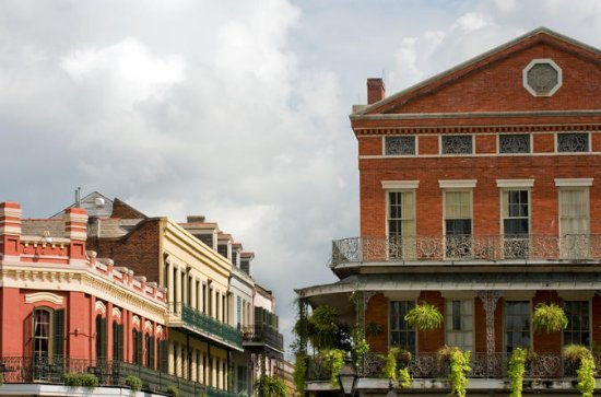 New Orleans historiske og sightseeing...
