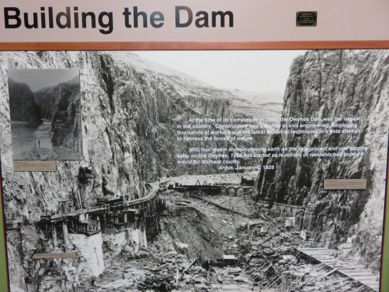 Ontario, OR: Fascinating history of dam construction