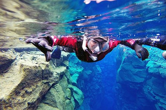 Small-Group Silfra Drysuit Snorkeling...