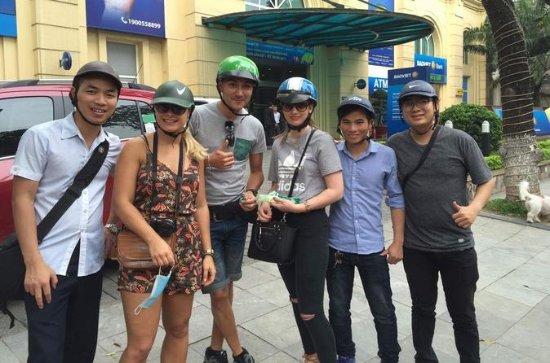 Erkunden Sie Hanoi mit dem Motorrad...