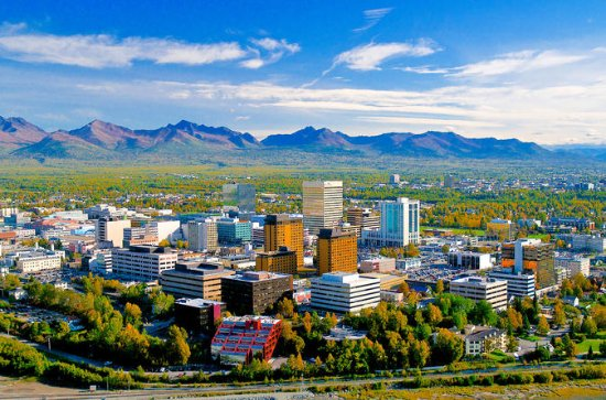 Summer Scenic City Tour of Anchorage