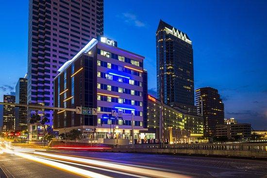 Aloft Tampa Downtown: Aloft Tampa Hotel Exterior City view