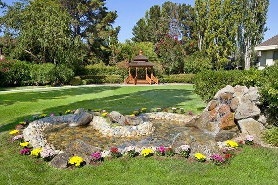 Саннивейл, Калифорния: Garden Waterfall