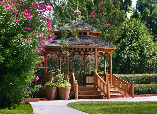 Саннивейл, Калифорния: Garden Gazeebo