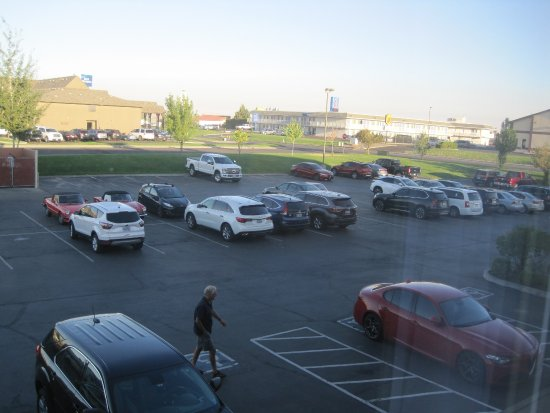 Holiday Inn Express Pendleton: View from the room
