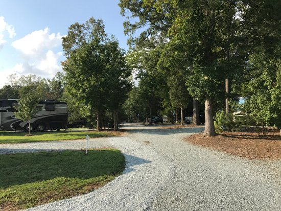 Mebane, Carolina del Norte: Park Roads