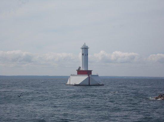 Round Island Lighthouse, Mackinac Island, MI.
