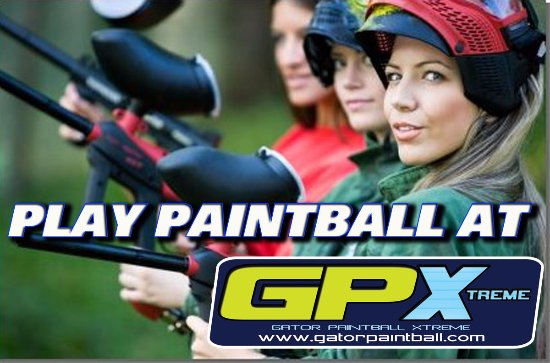 Hudson, FL: PLAY PAINTBALL AT GATOR PAINTBALL XTREME!