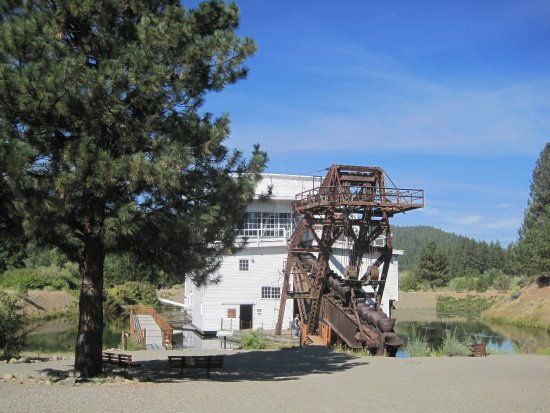 Sumpter Valley Dredge: Dredge Mill
