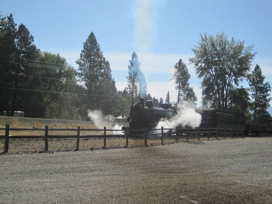 Sumpter Valley Dredge: Steam train