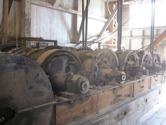 Sumpter Valley Dredge: Inside the Dredge