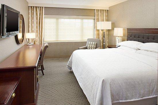 Sheraton Rockville Hotel King Guestroom