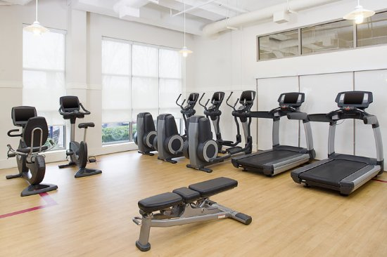 Sheraton Rockville Hotel Fitness Center