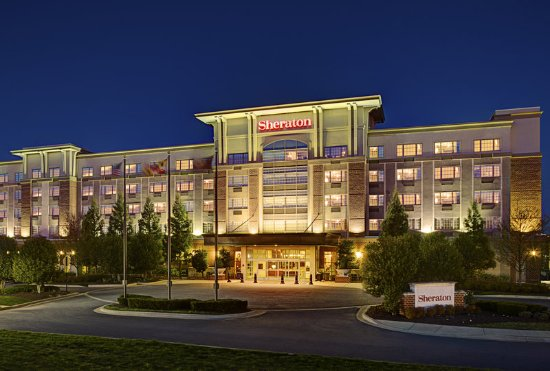 Sheraton Rockville Hotel Exterior