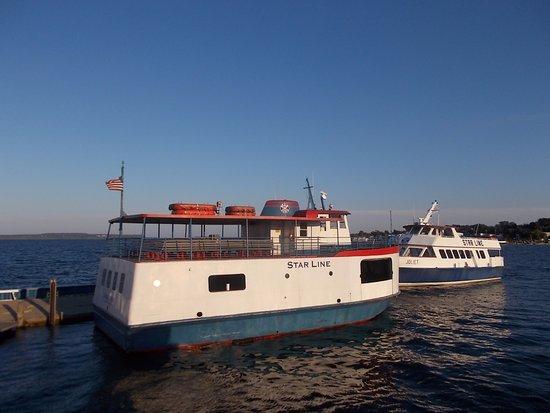 Mackinac Island Cheap Ferry