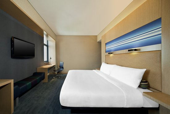 Haiyang, Kina: King Aloft Guest Room