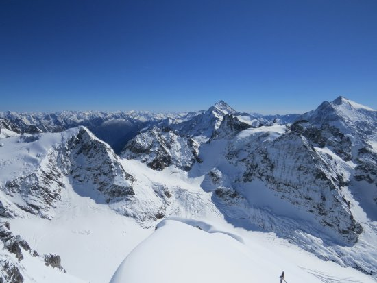 Mount Titlis: Views from the top. Photos don't really show the true beauty