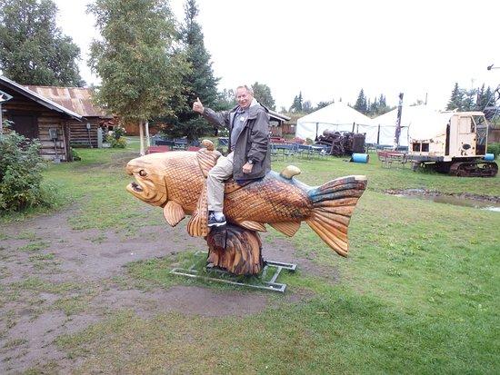 Pioneer Park: Ride the wild salmon