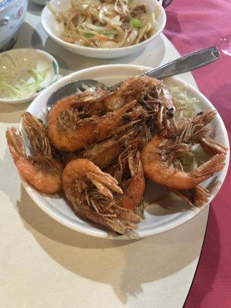 Arue, French Polynesia: Crevette au sel