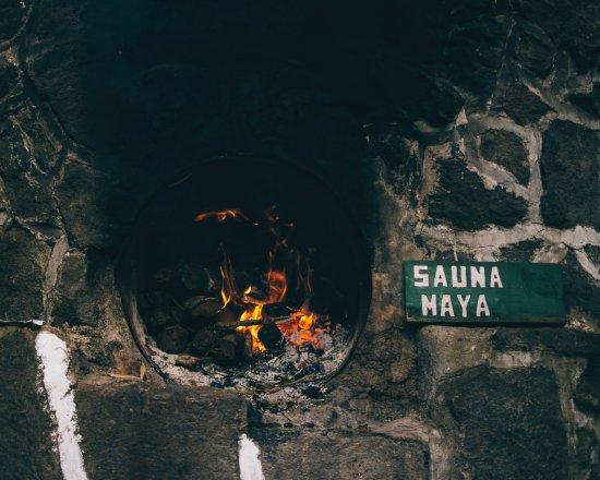 إكو هوتل أوكسلابيل أتيتلان: Sauna Maya