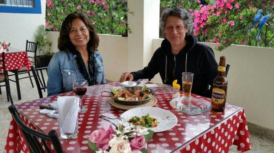 Sabor Espanol: Geniales esta bella pareja de amigos, perteneciente a Chile.