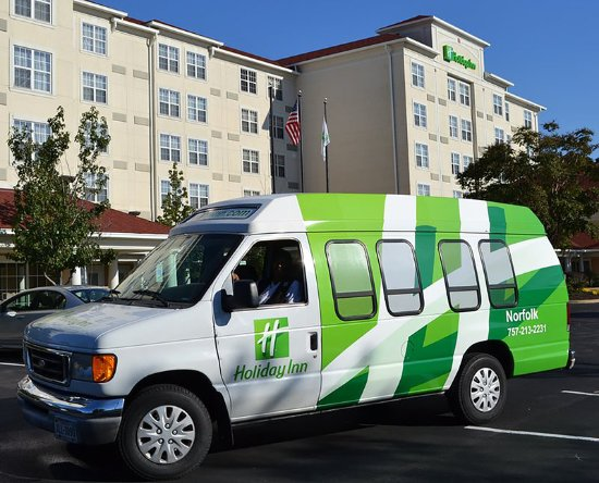 Holiday Inn Norfolk Airport: Complimentary 24 Hours Aiprort Shuttle