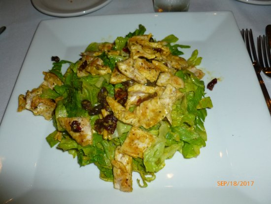 Nyack, NY: Curry chicken salad