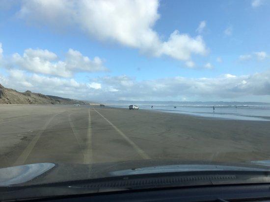 Kaitaia, Nya Zeeland: L'autoroute sur plage ! À faire