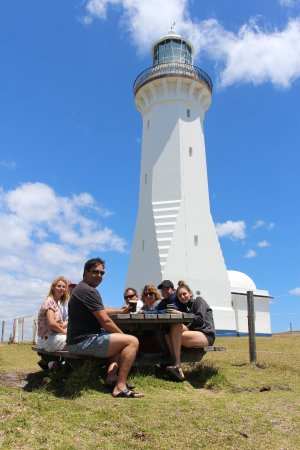 Eden, Australia: Lunch at Green Cape Lighthouse, Ben Boyd National Park