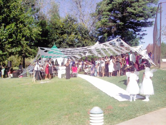 Winterton, جنوب أفريقيا: Wedding
