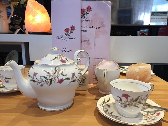 The Vintage Rose Tea Room Maldon
