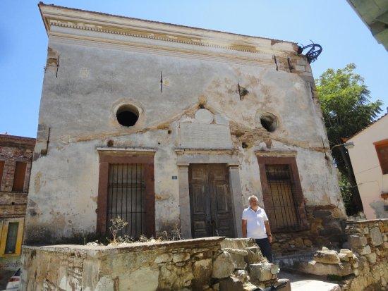 Chios Town, Greece: Bayraklı Camii-1