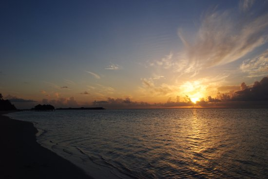 LUX* South Ari Atoll: Amanecer