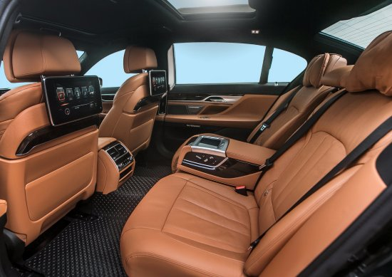 Phuket Luxury Transfers BMW 740Li Interior