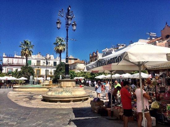 Sanlucar de Barrameda, Ισπανία: Plaza Cabildo
