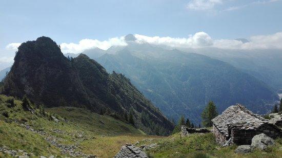 Antrona Schieranco, Italy: panorama dalla forcola