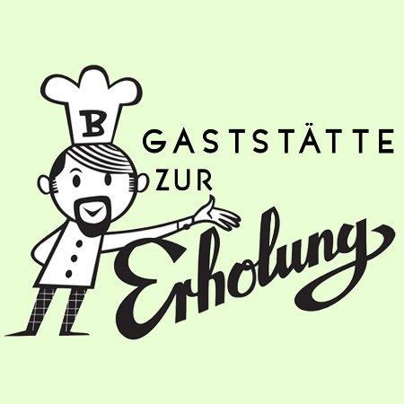 Uetersen, Germany: Logo der Gaststätte Zur Erholung