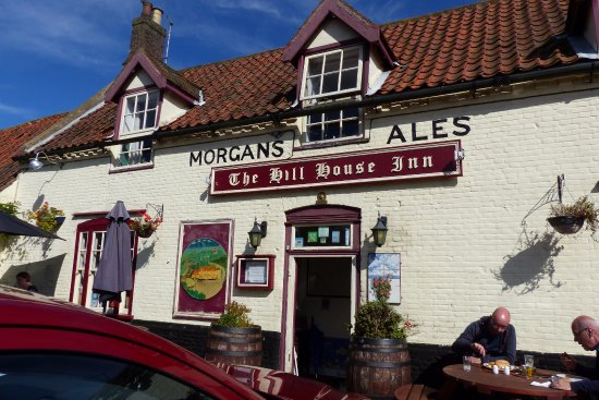 Happisburgh, UK: The Hill House Inn and Brewery