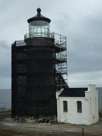Ilwaco, WA: North Head Lighthouse, currently under restoration