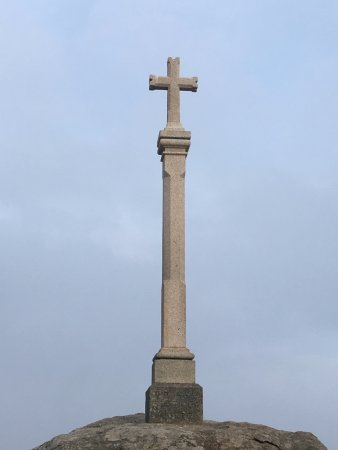Cape Finisterre, Spanien: El cruceiro del fin del mundo, en el Cabo de Finisterre