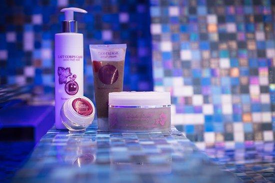 Saulieu, France: Soins signatures réalisés aux cosmétiques Secrets de Cassis