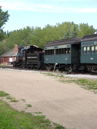 Fort Edmonton Park: Park Eisenbahn