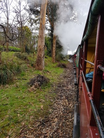 Belgrave, Αυστραλία: Puffing Billy Railway