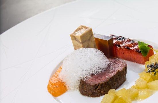 Sihlbrugg, Switzerland: Reh - Foie gras - Melone