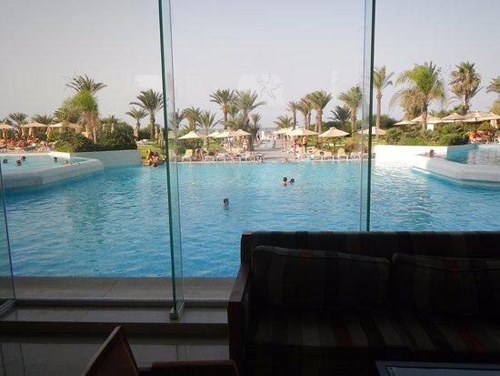 Iberostar Royal El Mansour : С рецепции открывается вид на бассейн
