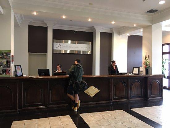 Distinction Palmerston North Hotel & Conference Centre: Reception