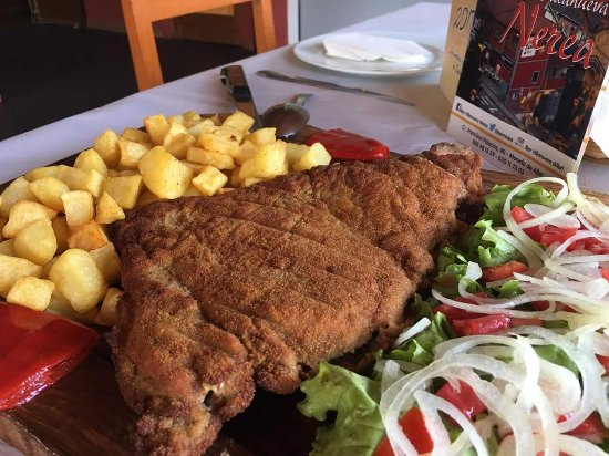 Муниципалитет Аллер, Испания: Cachopo de Chosco