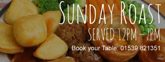 Crook, UK: Sunday Lunch