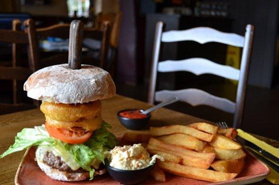 Crook, UK: Burger